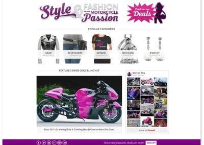 Biker Girl Bling Website