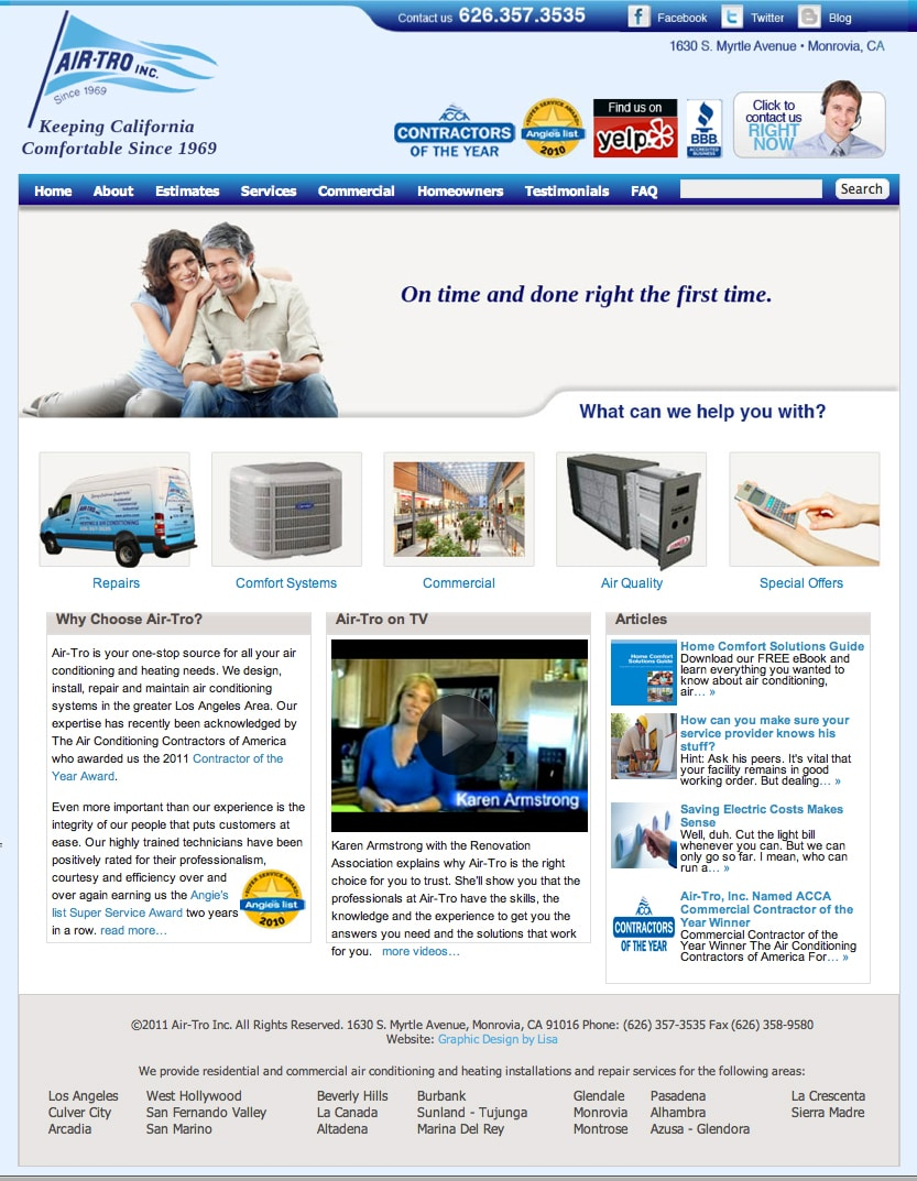 Air-Tro Website