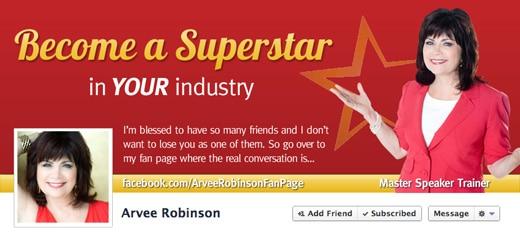 Facebook Design and Setup Case Study: Arvee Robinson