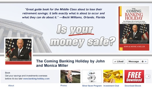 Banking Holiday Facebook Cover
