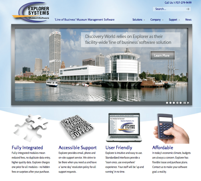 Explorer Systems Website